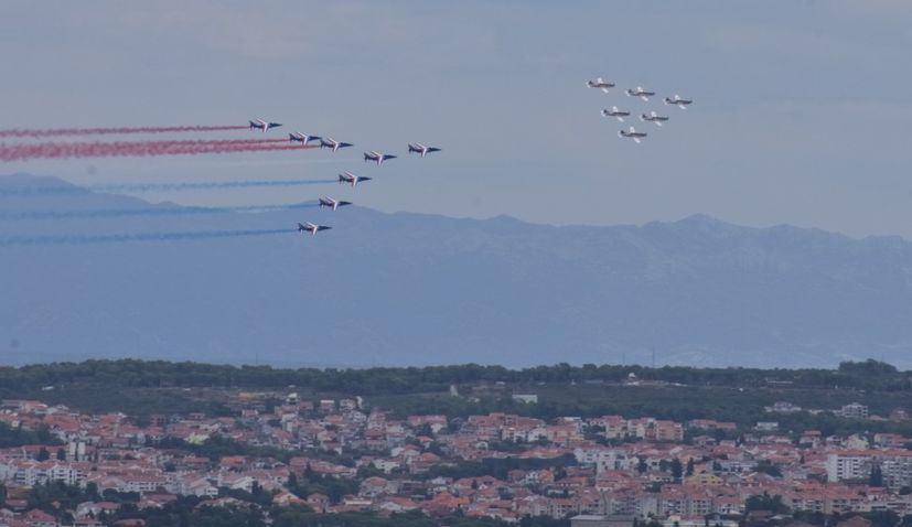 Cleveland Air Show 2020.Video Croatian French Air Force Aerobatic Teams Perform